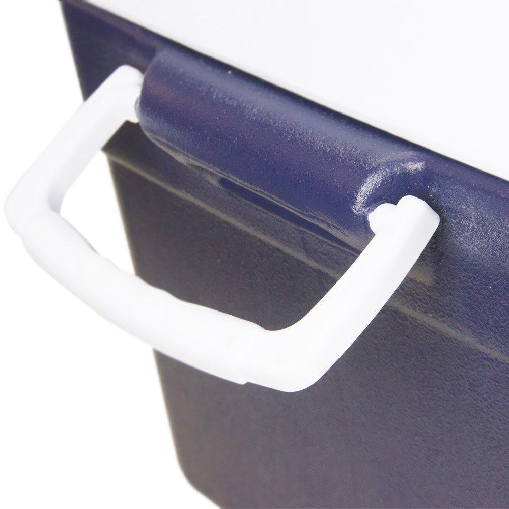Caixa Térmica Glacial 55 Litros Azul com Alça nas Laterais - Imagem zoom