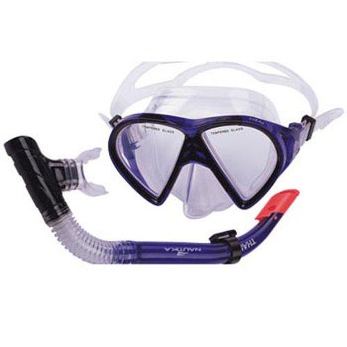 conjunto de máscara de lente dupla e respirador thai