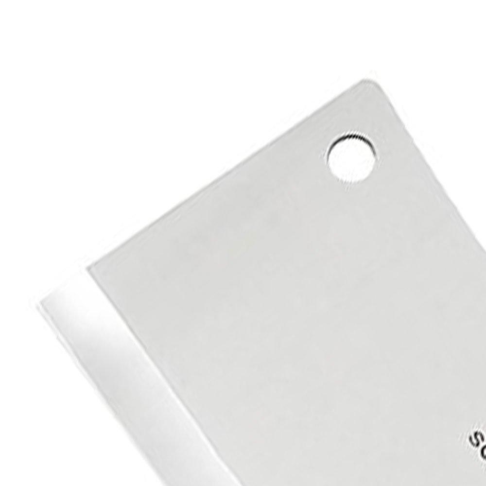Cutelo de 7 Pol. com Furo e Cabo Branco - Imagem zoom