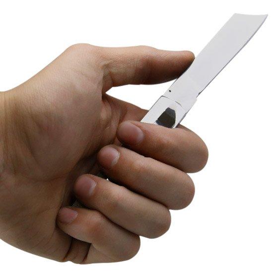 Canivete de Inox com Clip - Imagem zoom