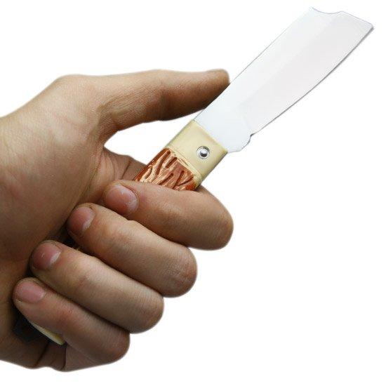 Canivete de Aço Carbono com Cabo Acetato - Imagem zoom