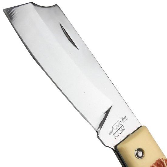 Canivete de aço Inox com Cabo Acetato - Imagem zoom