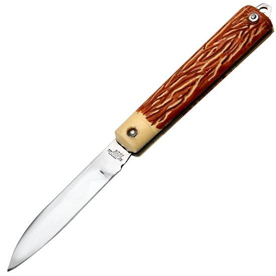 Canivete de Aço Inox com Cabo de Acetato - Imagem zoom