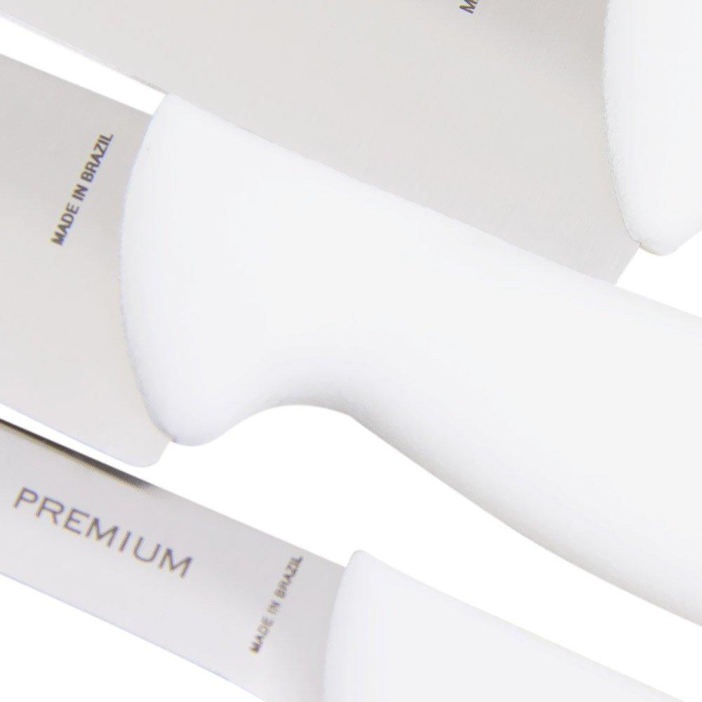 Conjunto de Facas Premium em Aço Inox com 3 Peças - Imagem zoom