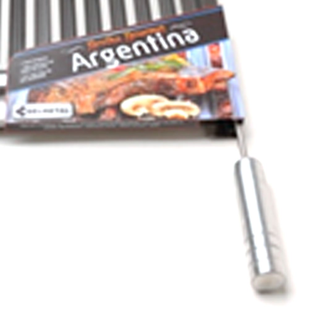 Grelha Argentina 55 x 50cm de Aço Inox para Churrasqueira - Imagem zoom