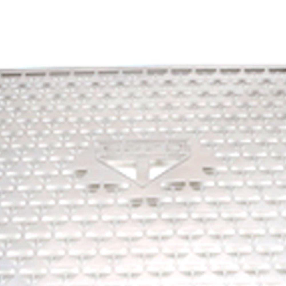 Grelha Presente do São Paulo 30 x 45cm em Aço Inox para Churrasqueira - Imagem zoom