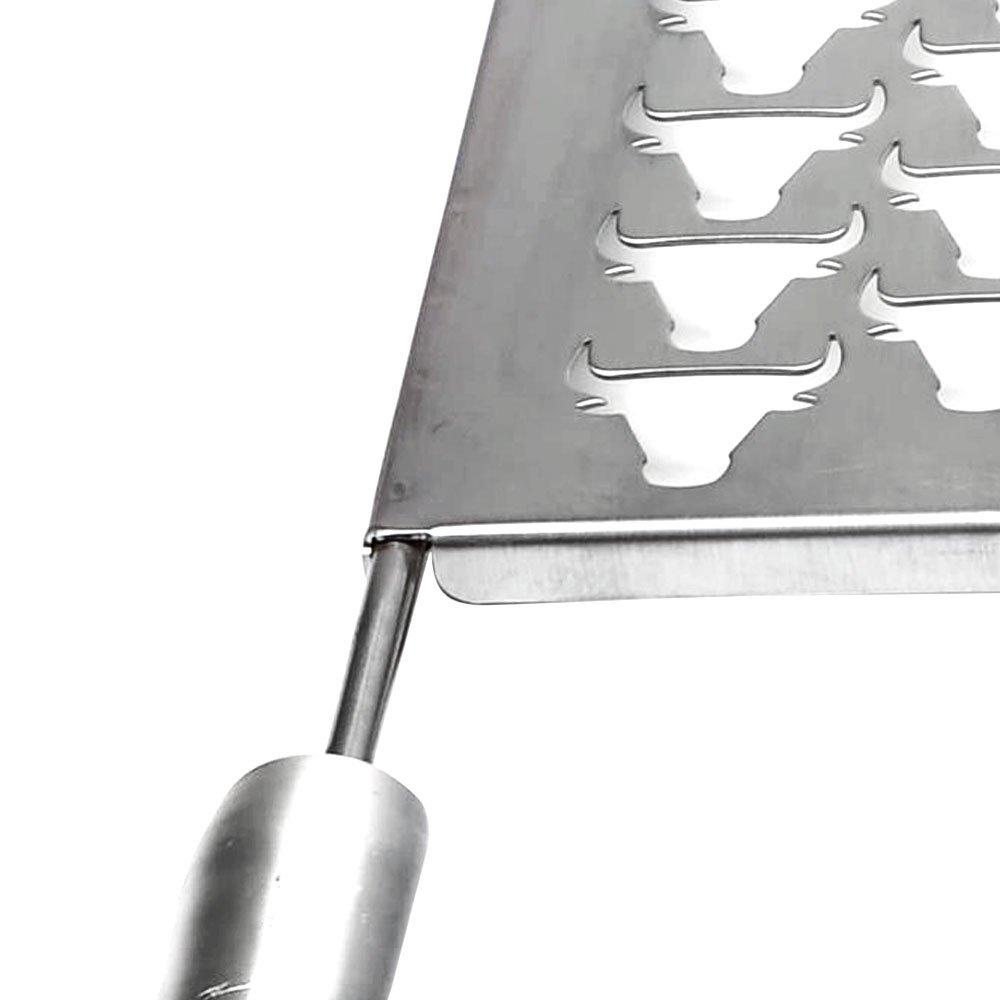 Grelha Gourmet Tauros 30 x 50cm em Aço Inox para Churrasqueira - Imagem zoom
