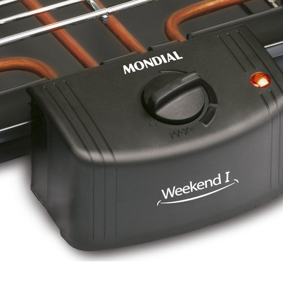 Churrasqueira Elétrica Mondial  1800W - Imagem zoom