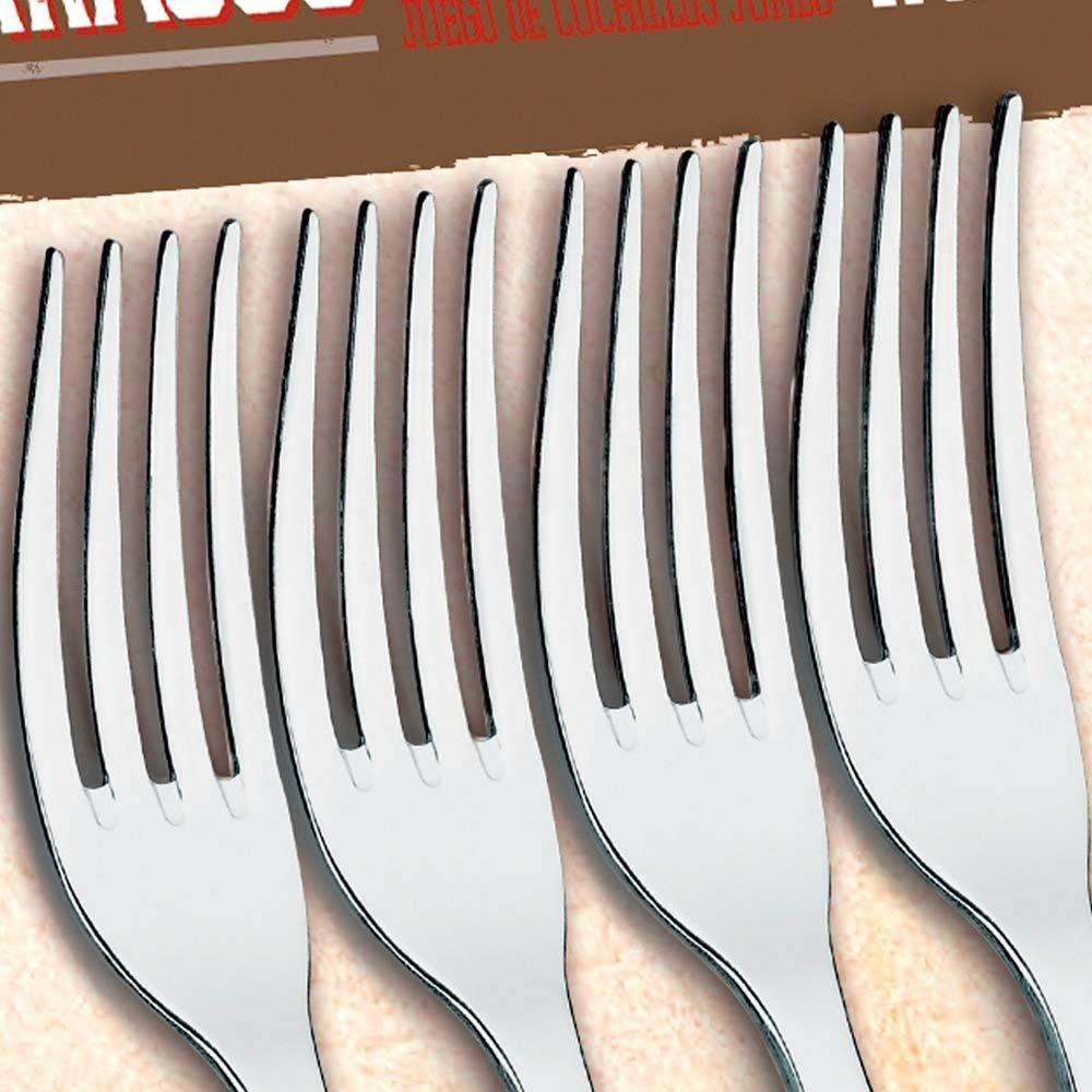 Conjunto garfos de inox 4 Peças Pllywood - Imagem zoom