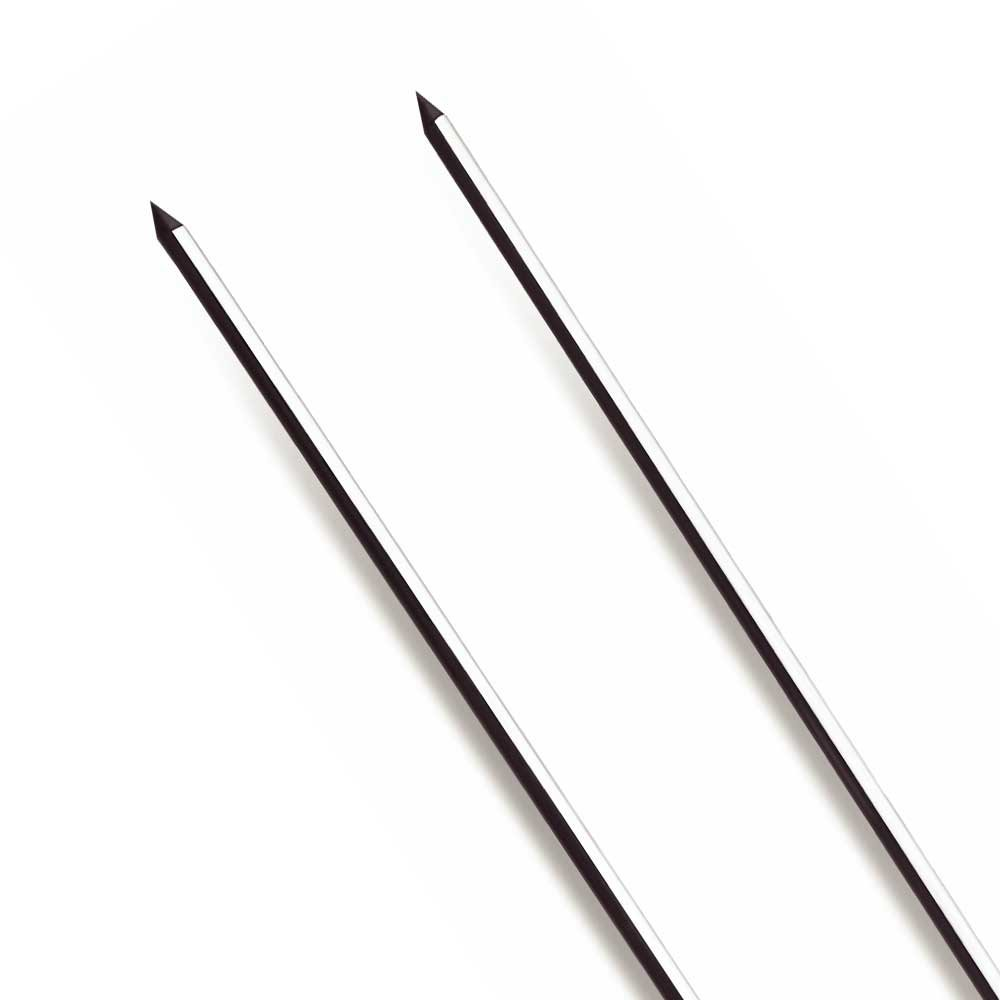 Espeto Duplo para Churrasco de Inox 65 cm - Imagem zoom
