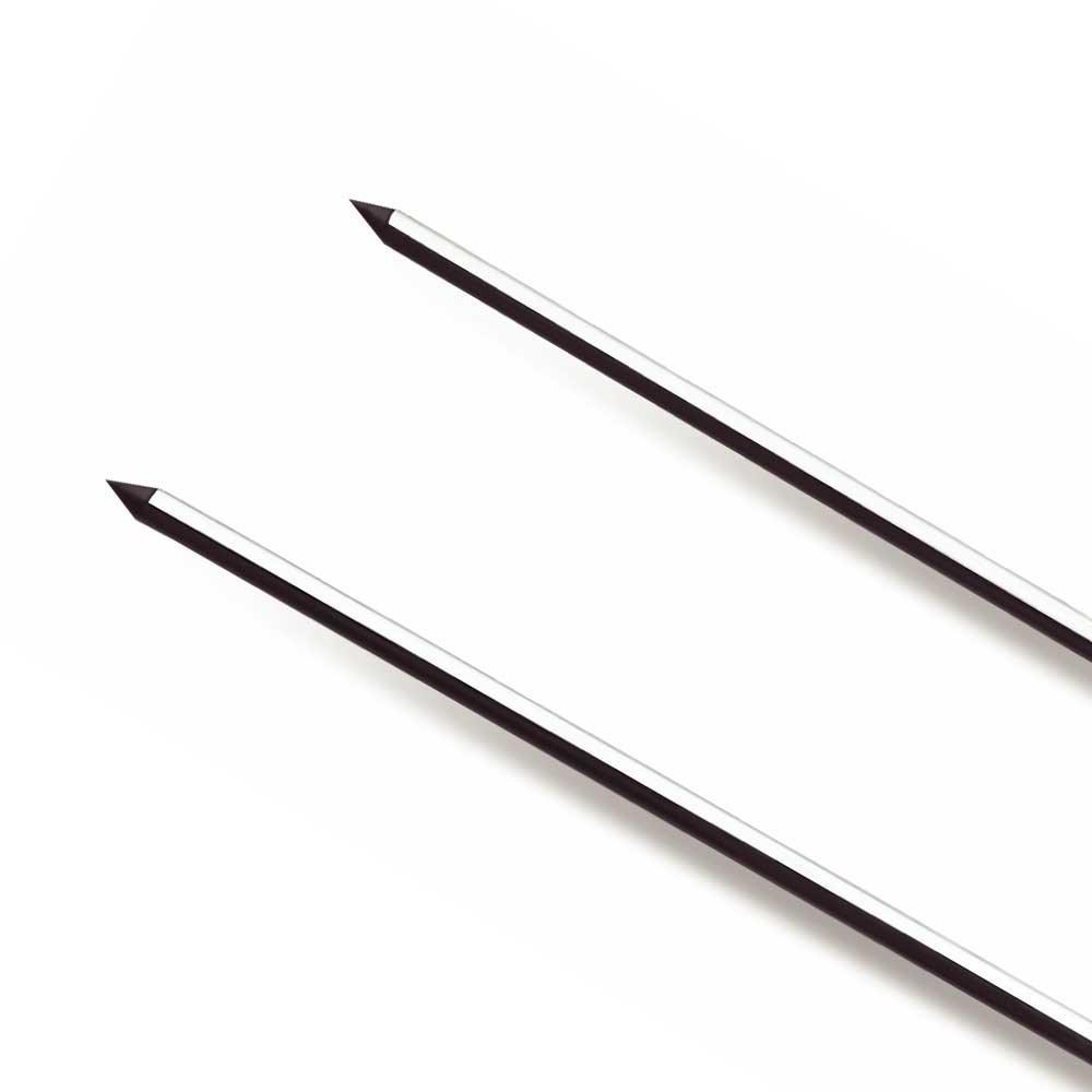 Espeto Duplo de Churrasco de Inox 75 cm - Imagem zoom
