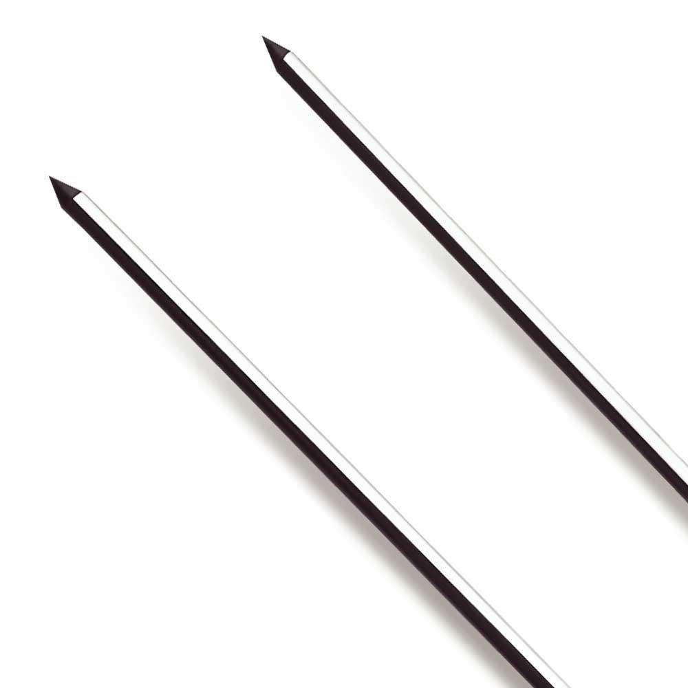 Espeto Duplo para Churrasco de Inox 85 cm - Imagem zoom