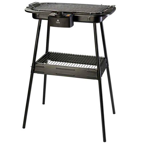churrasqueira elétrica 1800w 110v com pedestal dc0914s