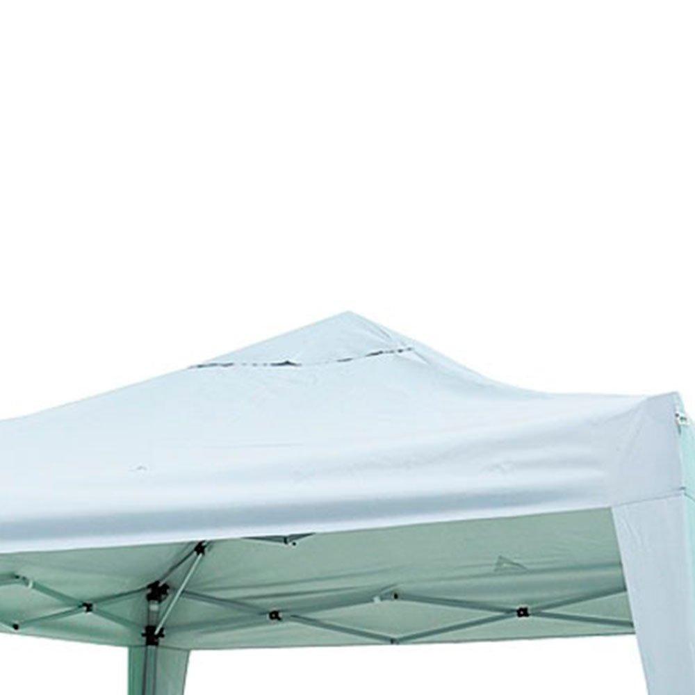 Gazebo X-Flex Oxford  3 x 3 m com Silvercoating Branco - Imagem zoom
