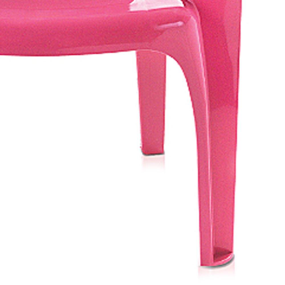 Poltrona Infantil Rosa com Label - Imagem zoom