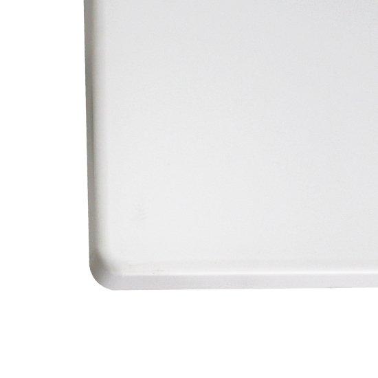Tampo Geo Retangular Branco 79 x 119cm - Imagem zoom