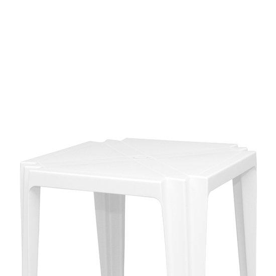 Mesa Quadrada Tambaú Branca - Imagem zoom