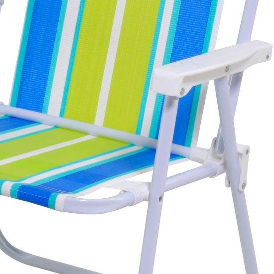 Cadeira Alta de Aço e Polietileno - Imagem zoom