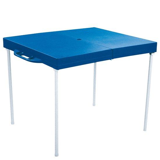 Mesa Prática com Banquetas Azul - Imagem zoom