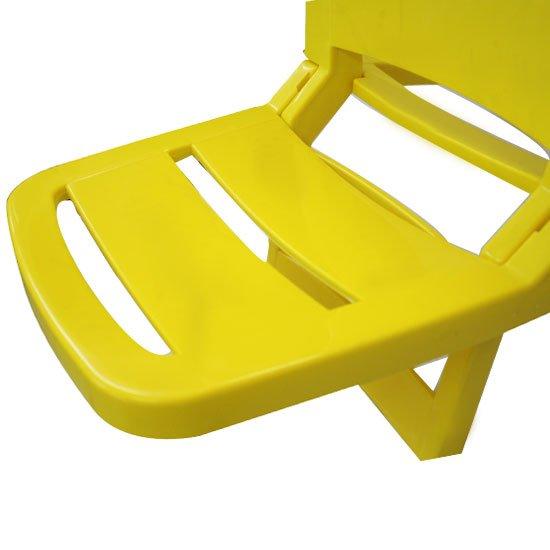 Cadeira Dobrável Guarujá Amarela - Imagem zoom