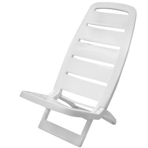 cadeira dobrável guarujá branca
