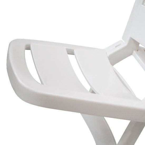 Cadeira Dobrável Guarujá Branca - Imagem zoom