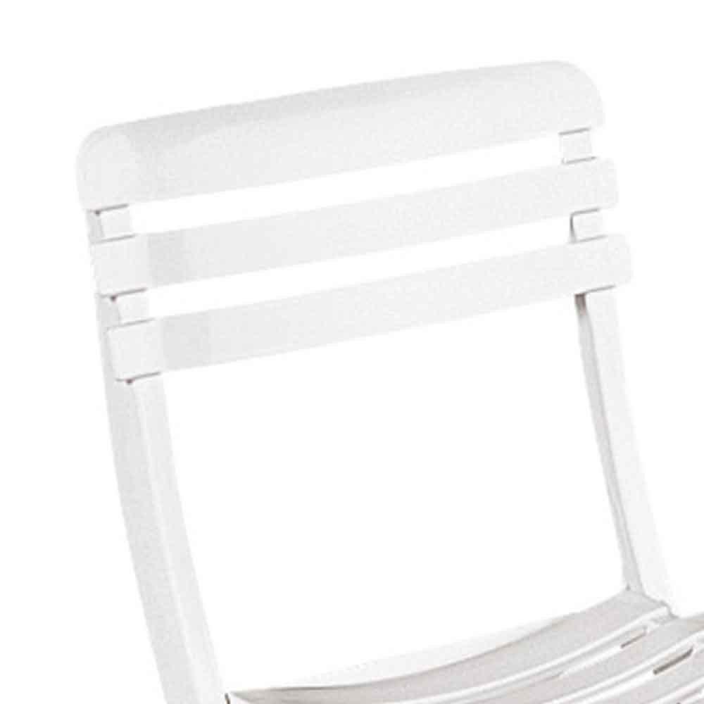 Cadeira Dobrável Branca - Ipanema  - Imagem zoom