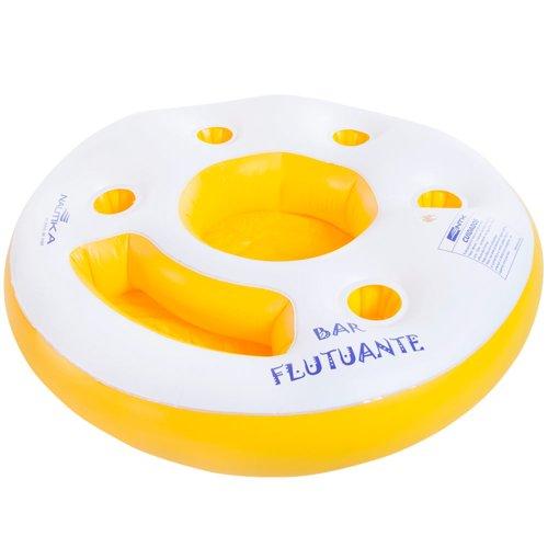 bar inflável ntk flutuante