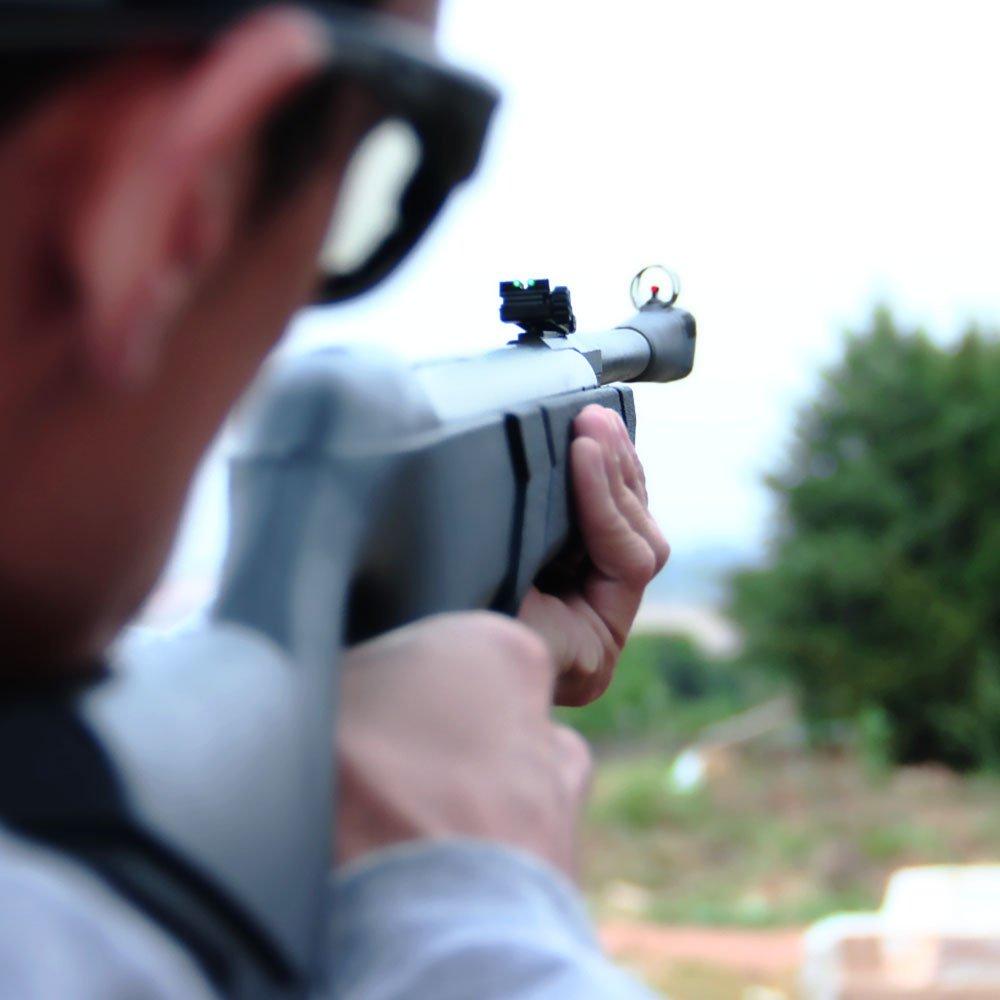 Carabina de Pressão Montenegro Nitro Advanced Calibre 5,5mm Coronha em Polipropileno - Imagem zoom