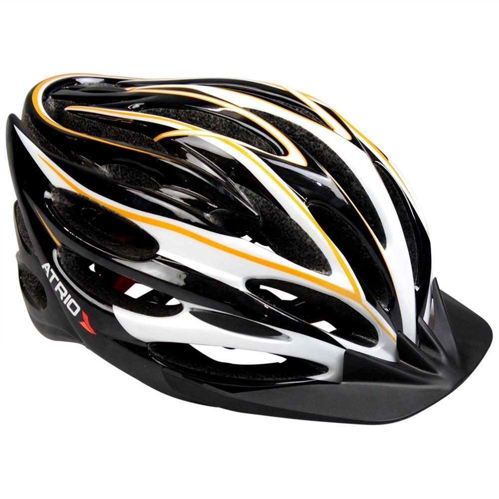 Capacete para Ciclismo Inmold com Led Preto G - Imagem zoom