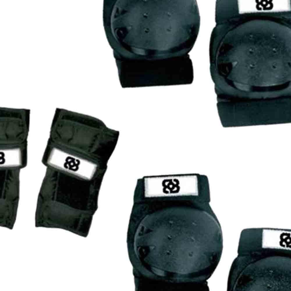 Kit de Proteção Bob Burnquist com 6 Peças - Imagem zoom