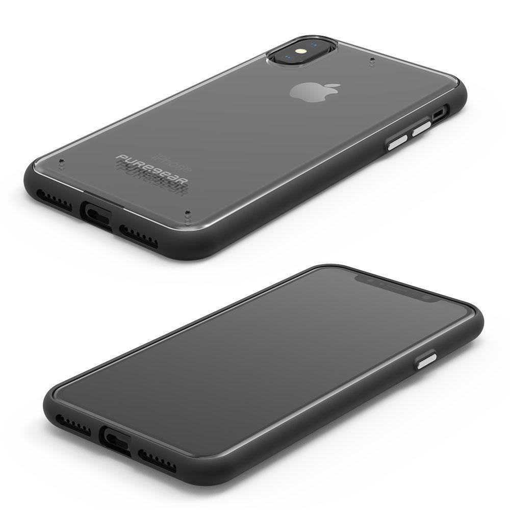 Capa Iphone Xs/X  Slim Shell Puregear Preto - Imagem zoom