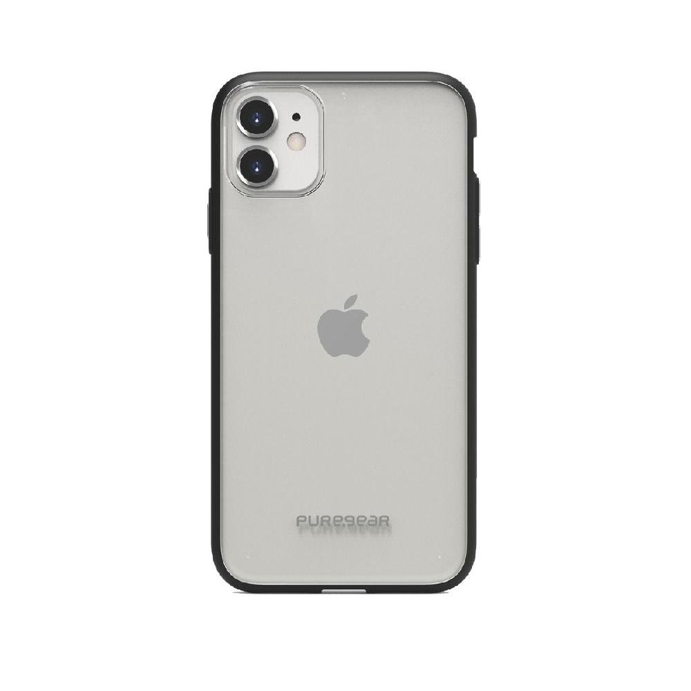 Capa Iphone 11 Pro 5.8 Slim Shell  Puregear Preto/transp - Imagem zoom