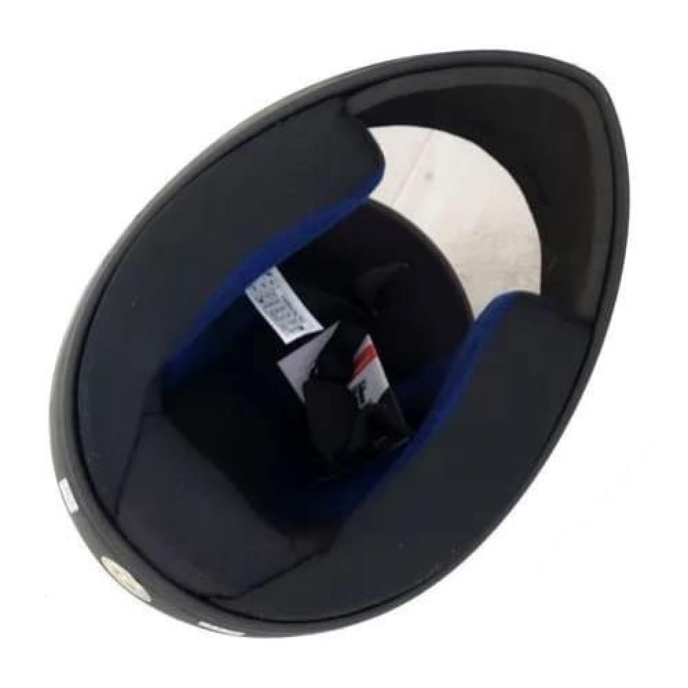 CAPACETE NEW SPARK BLACK EDITION 2 N60 PRETO FOSCO VERMELHO FECHADO COM VISEIRA EBF - Imagem zoom